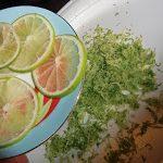 Capesante con lime e peperoncino