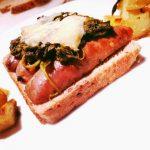 toast con salsiccia e friarielli