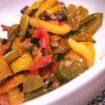 peperoni capperi e olive
