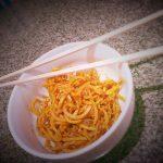 Noodles di patate dolci